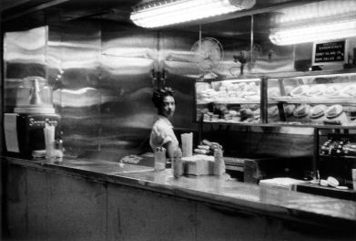 Robert Frank, coffee shop - Railway station.