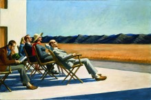 Edward Hopper, People in the sun.