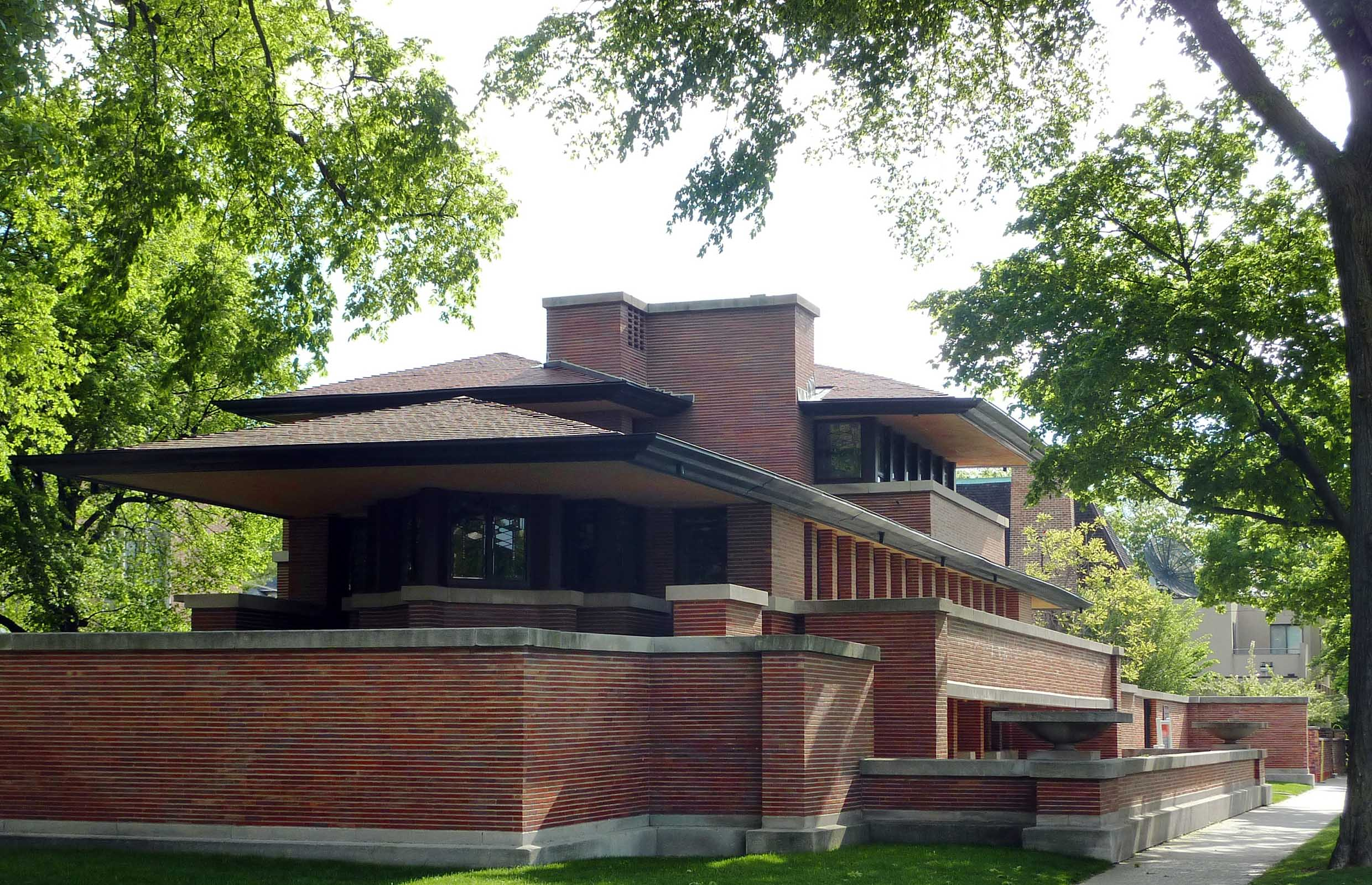 Chicago tra grattacieli expo e case nella prateria le for Frank lloyd wright stile prateria