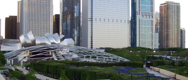 Frank Gehry, Pritzker Pavilion.