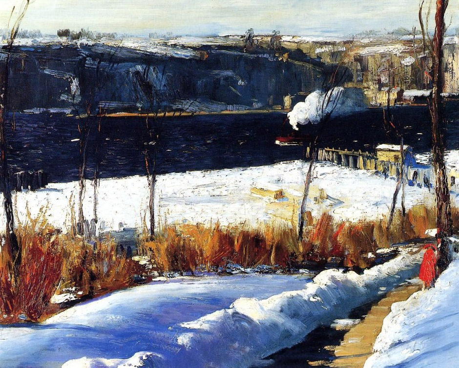 George Bellows, winter afternoon.