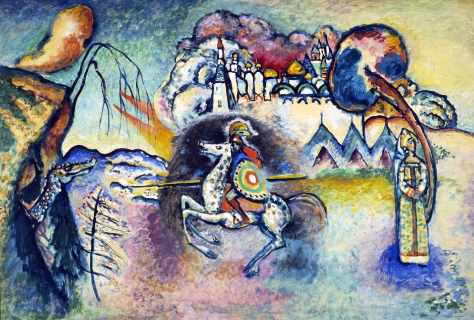 Vassiliy Kandinsky, St. George IV.