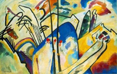 Vassily Kandinsky, composizione IV.