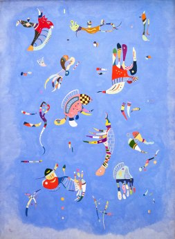 Kandinsky - Bleu de Ciel