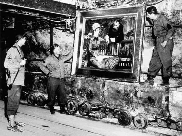 Il ritrovamento di un Manet trafugato dai nazisti in una miniera di sale tedesca, 1945.