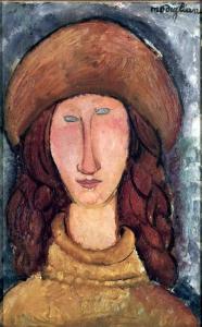Amedeo Modigliani, Jeanne Hebuterne.