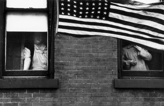 Robert Frank, Parade - Hoboken, New Jersey.