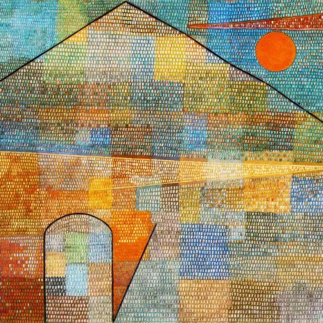 Paul Klee-to-the-parnassus