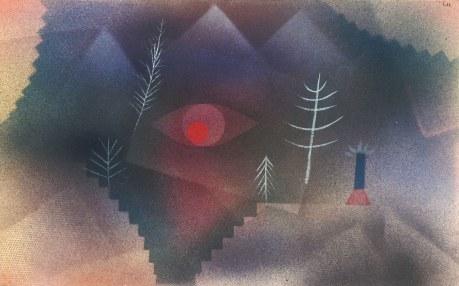 Paul Klee, Scorcio di paesaggio