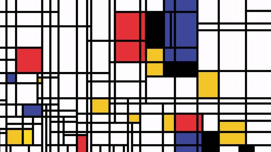 Piet Mondrian, senza titolo.