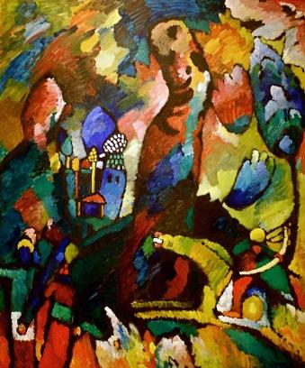 Quadro-con-arciere-Kandinsky