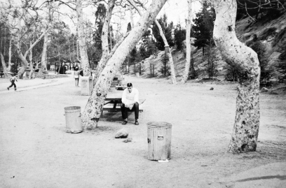 Robert Frank, picnic ground - Glendale, California.
