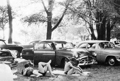 Robert Frank, public park - Michigan.