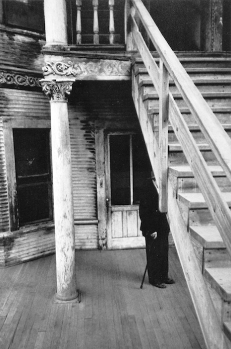 Robert Frank, rooming house - Los Angeles.