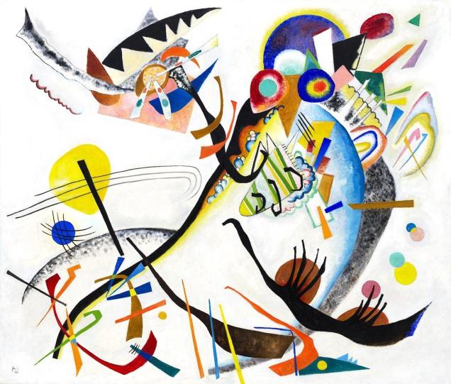Vassilij Kandinsky, Segmento blu.