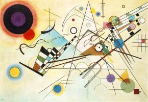 Vassily Kandinsky, Composition 8.