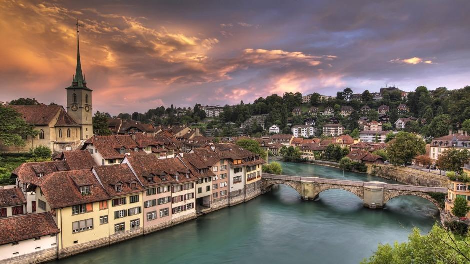 Berna, centro storico.