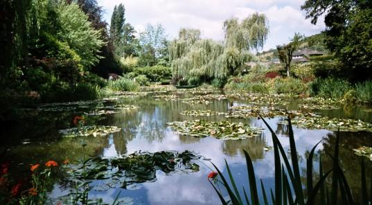 Casa di Monet, Giverny, giardino
