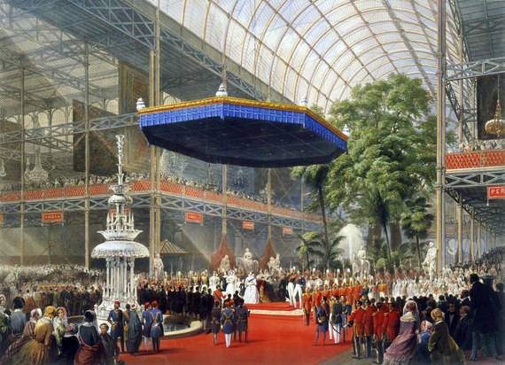 Il Crystal Palace, sede e simbolo della Great Exhibition, 1851.