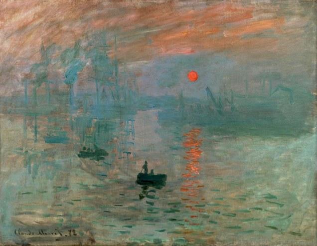 Claude Monet, Impression, soleil levant.