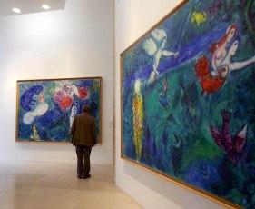 Museo Chagall, Nizza, interno