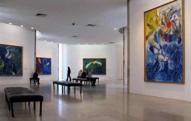 Museo Chagall, Nizza, interno2