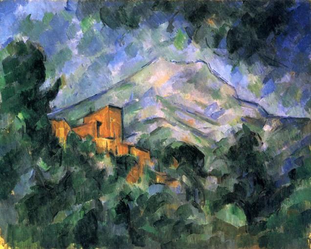 Paul_Cézanne_Mont Sainte Victoire
