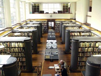 Biblioteca del Royal Institute of British Architects.