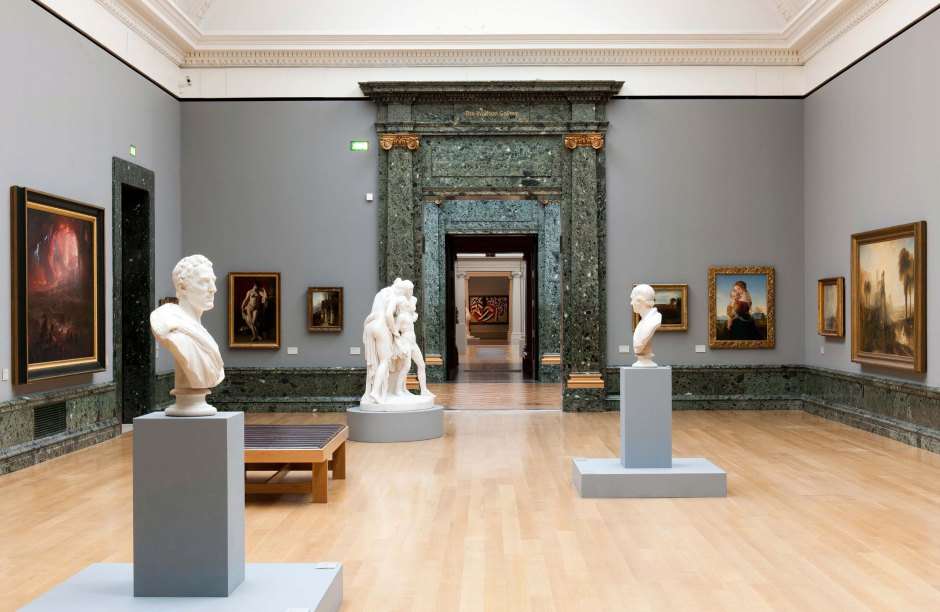 Tate Britain, interno