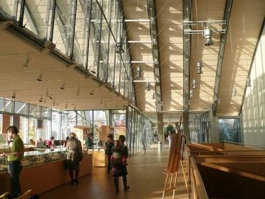 Zentrum Paul Klee, interior 3