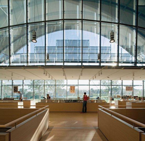 Zentrum Paul Klee, interior