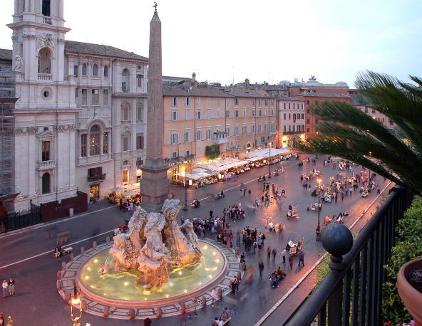 Piazza Navona, fontane