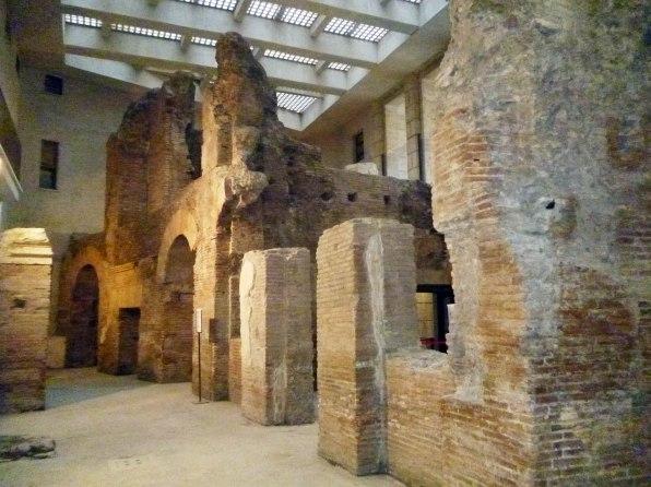 Piazza Navona, scavi archeologici2