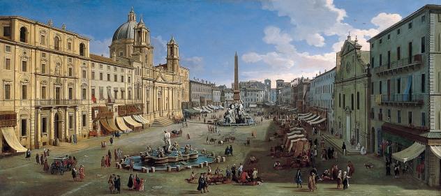 Veduta di Piazza Navona