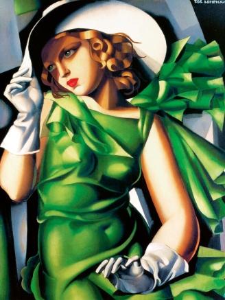 Tamara De Lempicka, ragazza in verde.