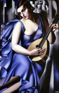 Tamara-Lempicka-donna-blu-con-chitarra