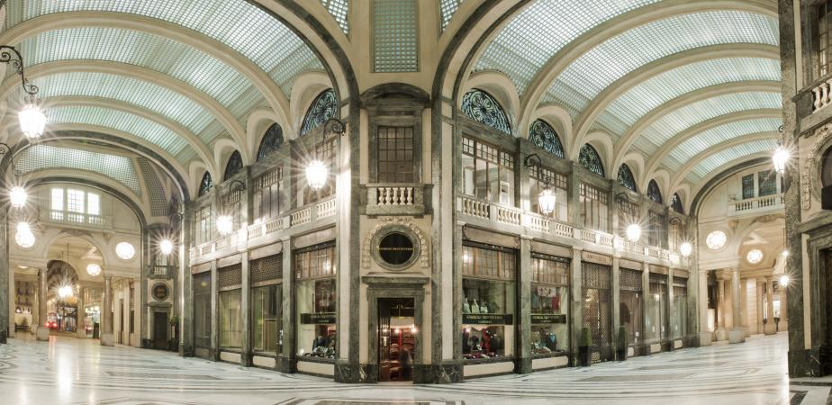 Galleria San Federico, Torino, via Roma.