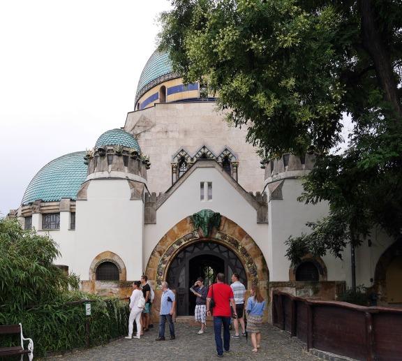 La casa dell'elefante allo zoo.