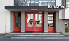 Impressions from the Staatliches Bauhaus, former home of the design school that founded modernism, in Dessau, Germany.