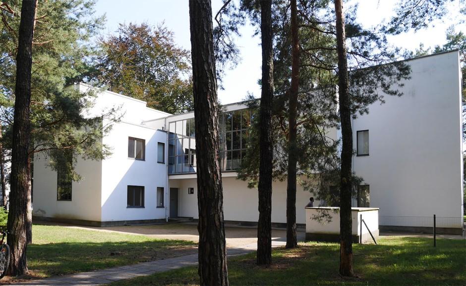 Una delle case dei maestri, Dessau.