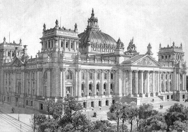 Il Parlamento di Berlino nel 1894.