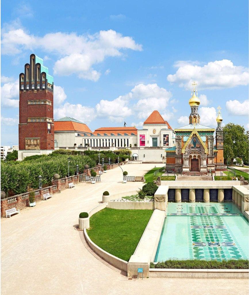 La Colonia degli Artisti di Darmstadt.