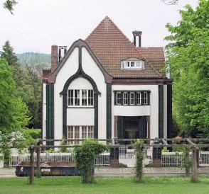 Abitazione di Peter Behrens, da lui progettata.
