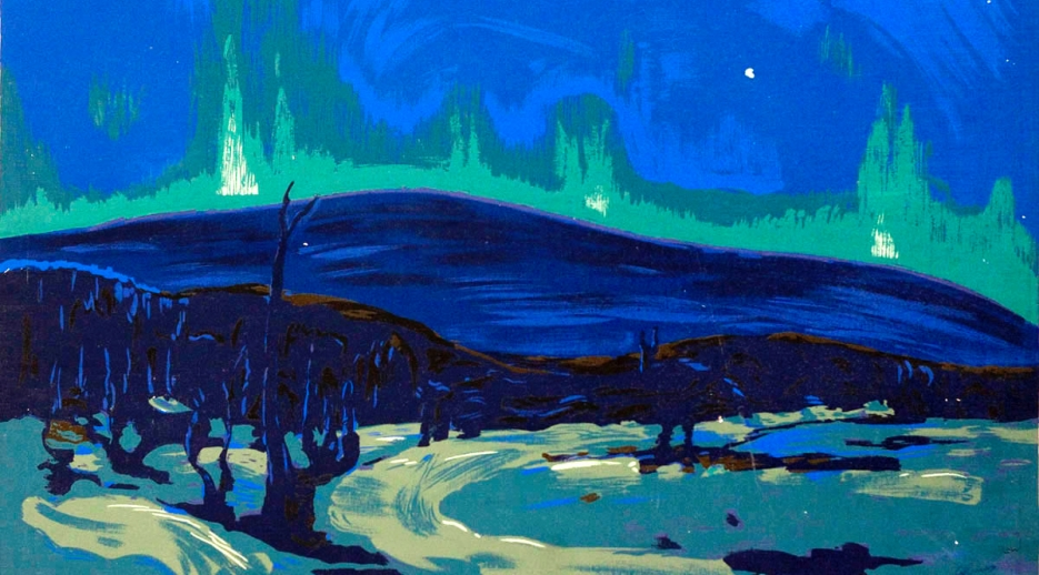 Tom Thomson, Aurora boreale