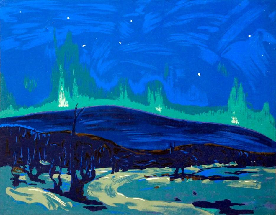 Tom Thomson, Aurora boreale