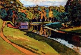 Vassily Kandinsky, Autunno, studio.