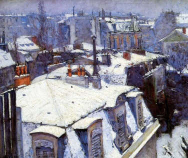 Gustave Caillebotte, tetti.