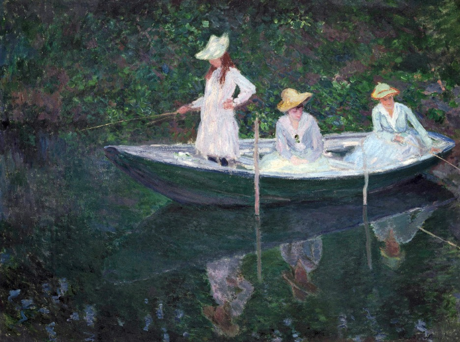 Claude Monet, La barca a Giverny.