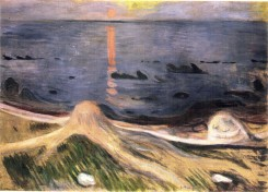 Edvard Munch, the mystery of a summer night.