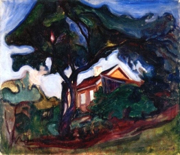 Edvard Munch, the apple tree.